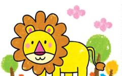 动物简笔画大全带颜色