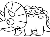 恐龙简笔画图片大全