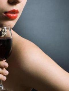 红酒图片唯美美女伤感图片