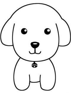 简笔小狗图片大全可爱