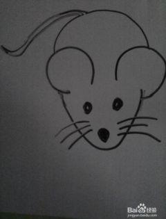 简笔老鼠图片大全可爱