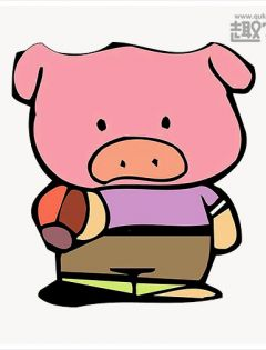 小猪情侣卡通头像简笔画图片大全
