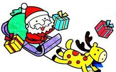 圣诞节幼儿简笔画
