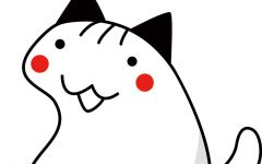 可爱情侣猫简笔画