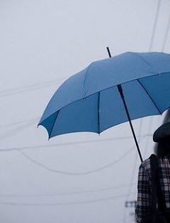 下雨图片唯美伤感带字图片大全