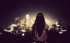 伤感夜晚城市唯美图片