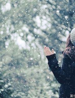 雪天伤感唯美意境图片