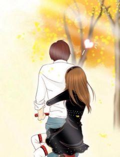 动漫分手情侣图片大全唯美伤感