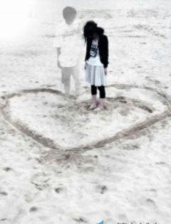 情侣分别伤感背影图片