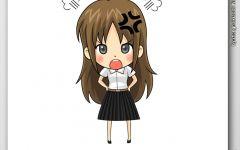 可爱小女生动漫图片