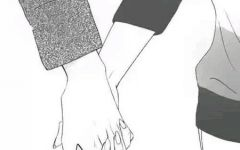 情侣牵手背影图片动漫头像大全