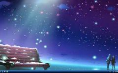 星空情侣图片