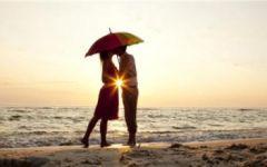 情侣图片背影手牵手拥抱