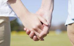 情侣图片手牵手一对一