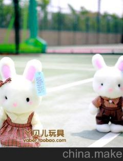 小兔子情侣图片大全
