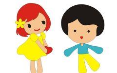 甜蜜情侣图片卡通图片