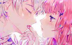 动漫情侣图片可爱亲吻二次元