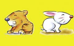 兔子老虎情侣图片