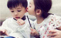 情侣图片可爱小孩