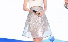 赵丽颖穿裙子可爱图片