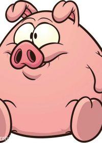 幸福猪猪头像可爱图片大全