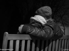 黑白爱情唯美图片