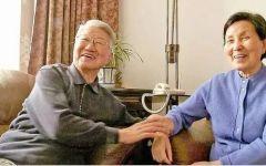 老人到老爱情图片