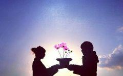 爱情的说说浪漫带图片