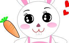 小兔图片卡通可爱图片大全