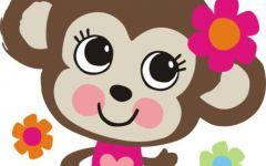 小猴可爱图片大全