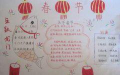 春节手抄报