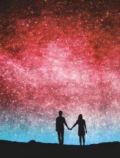 浪漫图片星空