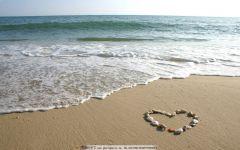 爱情沙滩图片大全
