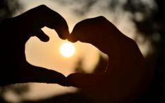 爱情比心图片大全