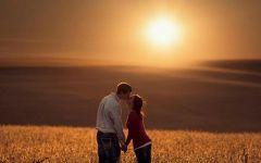 爱情人物风景图片唯美