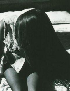 黑白伤感图片
