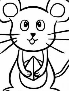 老鼠简笔画大全