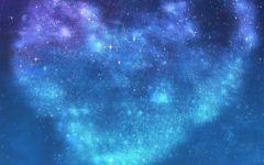 浪漫星空图片