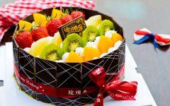 欧式浪漫生日蛋糕图片
