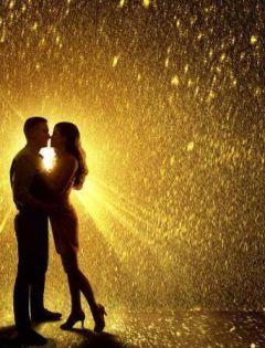 情侣接吻浪漫图片