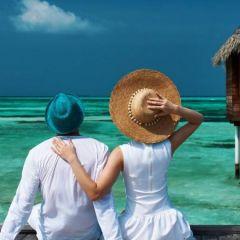 海边情侣头像