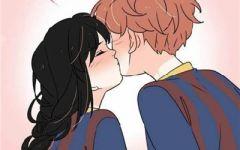 很甜的动漫图片情侣