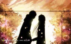 情侣背景动漫图片高清图片