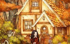 森林女孩动漫图片唯美