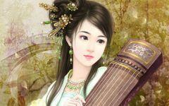 古代唯美图片美女伤感图片
