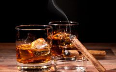烟和酒的图片伤感