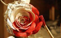 带血的玫瑰图片伤感