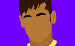 内马尔表情图卡通