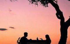 情侣头像风景两张