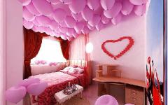 浪漫房间布置图片